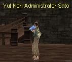 Administrator Sato Of Yut Nori