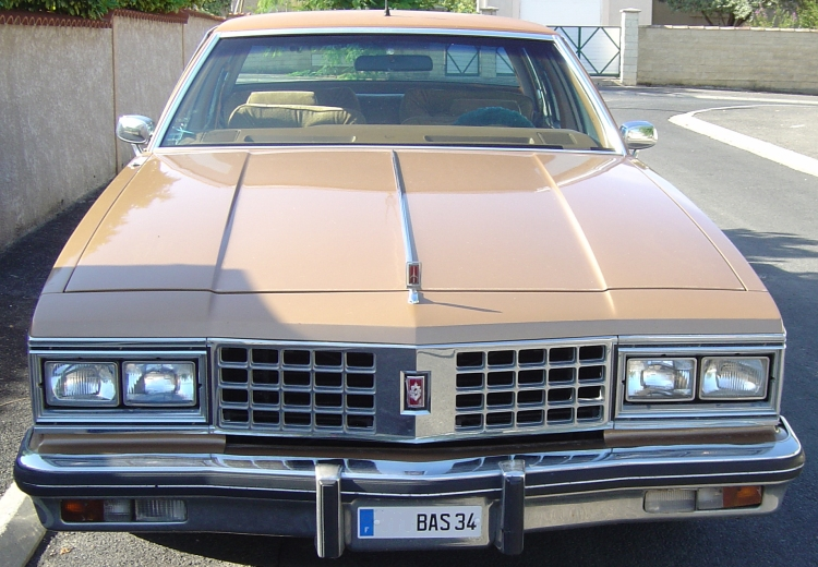 TOPIC: Oldsmobile REGENCY NINETY EIGHT 98 de 1980 BVA V8 5'734 cm3