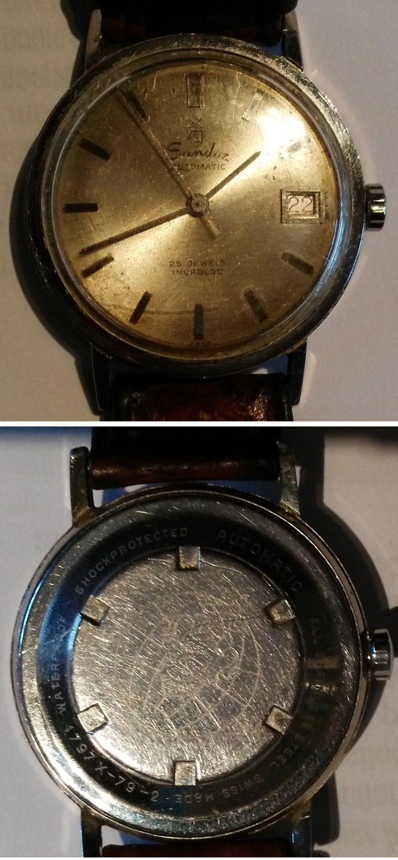 Sandoz montre automatic 1797-X-79-2