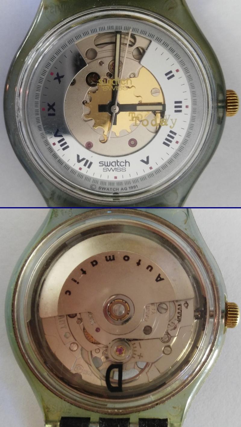 Swatch automatique squelette de 1991