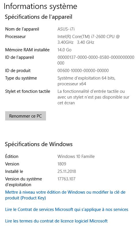 <b>Windows</b> <b>10</b>, version <b>1809</b>-fonctionnalités qui ont été ...